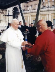 II janos pal papa - sri chinmoy