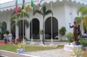 Sri Chinmoy szobor - Kelet Timor2
