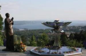 Sri Chinmoy szobor - Oslo