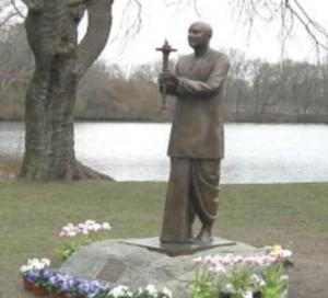 Sri Chinmoy szobor - Rhode Island