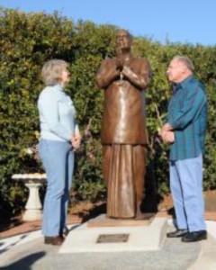 Sri Chinmoy szobor - San Diego