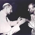 Sri Chinmoy és VI Pál Pápa